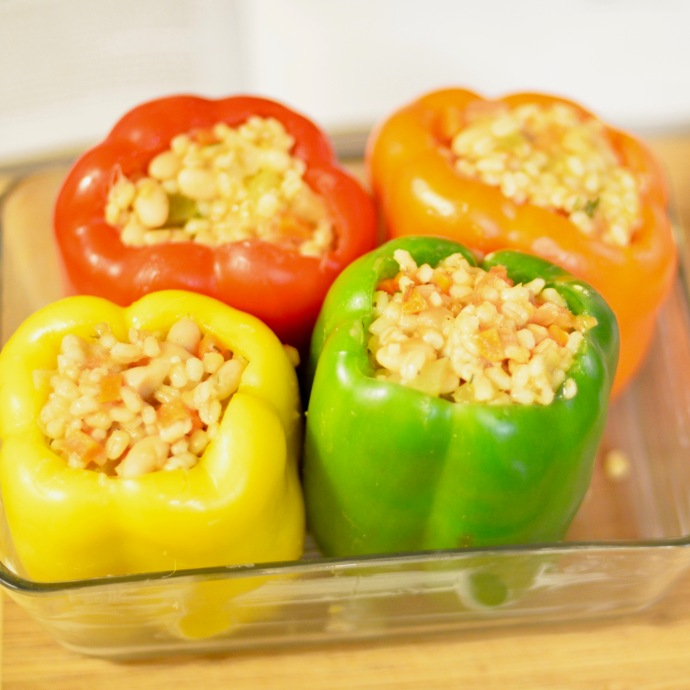 Barley-Stuffed Peppers from ThugKitchen – Grounding Up